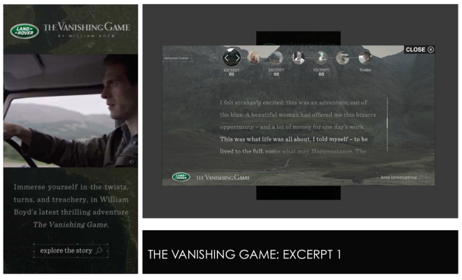 VANISHING GAME 1
