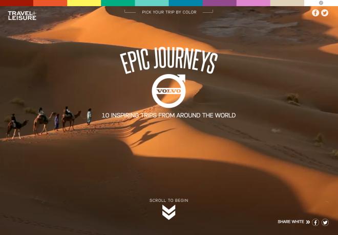 Epic Journeys | T + L