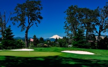 The Course: INDIAN CREEK | The Wonder: Columbia River Gorge | Play at Indian Creek Golf Course is on extremely fast greens.