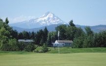 The Course: INDIAN CREEK | The Wonder: Columbia River Gorge |The Indian Creek Golf Course greens are kept in immaculate shape.