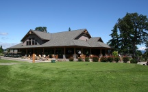 The Course: INDIAN CREEK | The Wonder: Columbia River Gorge | The cabin-like clubhouse reflects the beauty of the great Wonder we call the Gorge.