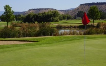 The Course: MEADOW LAKES | The Wonder: Painted Hills |Tucked away near the Painted Hills, Meadow Lakes is a great reason to visit this Wonder of Oregon.